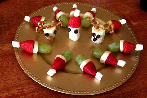 chrisrmas snack ideas healthy snacks for you and for the bunny