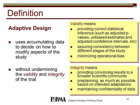 design aspects definition adaptive clinical trials ppt download