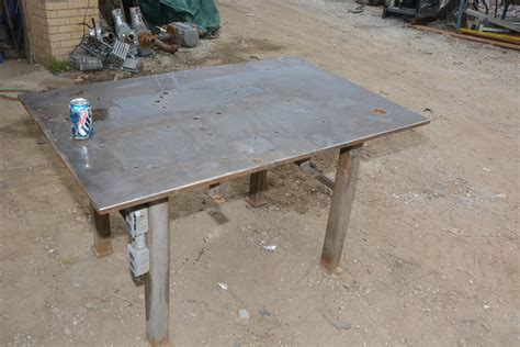 industrial heavy duty welding table base 52x34x30 quot