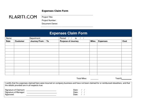 best photos of expenses claim form pdf travel expense