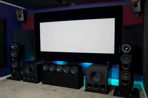 Kefs New Egg Home Cinema Speakers For Heiress by Kef Reference Svs Pb13 Ultra S In A Home Theater Set Up
