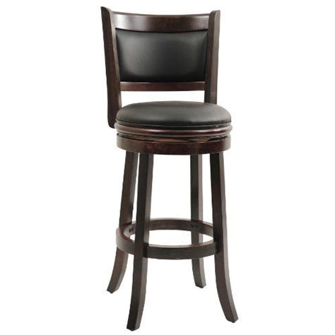 boraam augusta 29 in swivel bar stool contemporary bar stools and counter stools by hayneedle boraam 48829 augusta swivel stool 29 inch cappuccino