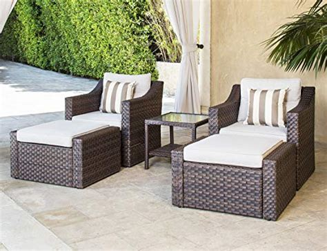 solaura sofa sets  piece outdoor furniture set brown