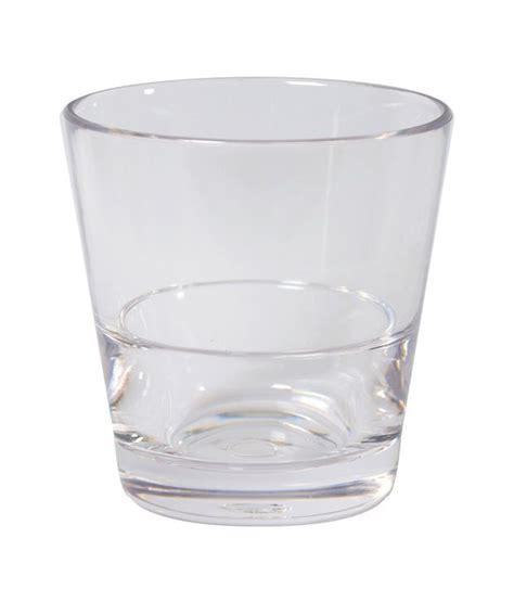 Buy Barware by Stallion Barware Rocks Unbreakable Glasses Set Of