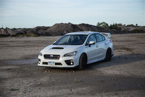 2016 white subaru review 2016 subaru wrx sti sport package canadian auto