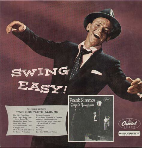 frank sinatra swing easy the frank sinatra swing easy songs for young lovers