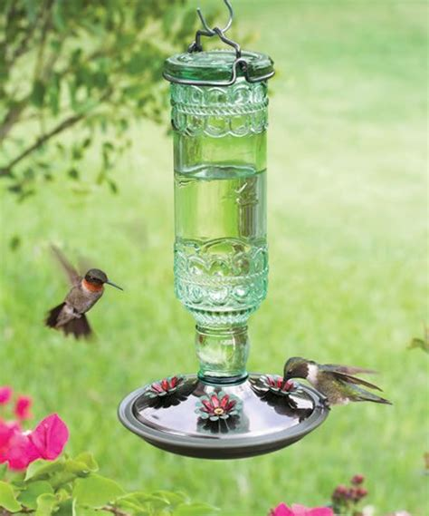 pretty hummingbird feeder gardening pinterest