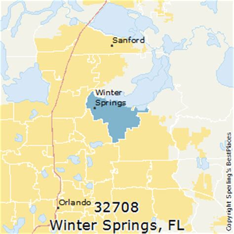 where is winter florida on map best places to live in winter springs zip 32708 florida