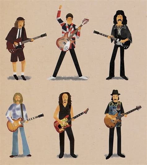 guitar lessons rockeros varios stevie ray vaughan frank zappa  keith richards