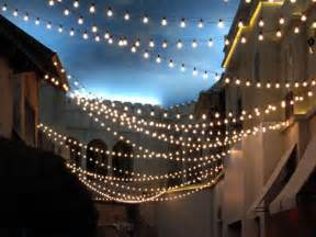 outdoor strand lighting carnival style string lights where to buy rent weddingbee