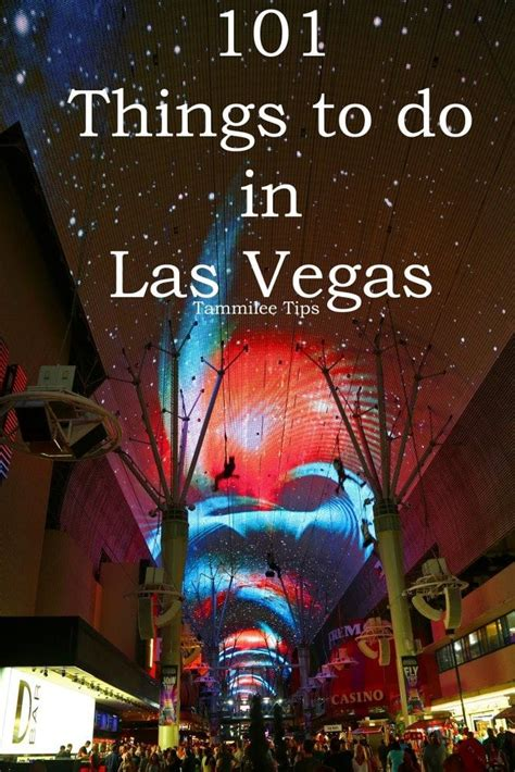 101 things to do in las vegas tammilee tips