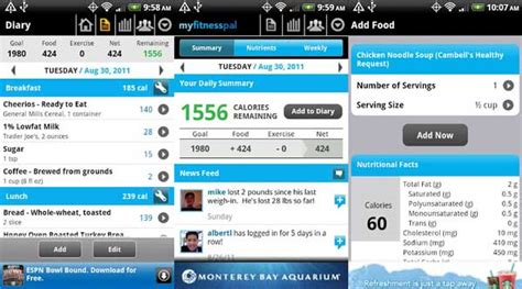 my fitness pal app for android best android apps for staying healthy android authority