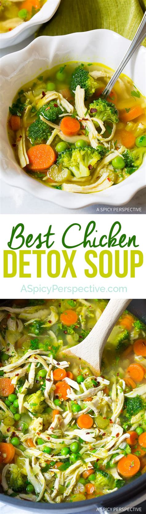 Detox Diet Social Influences by Chicken Detox Soup A Spicy Perspective