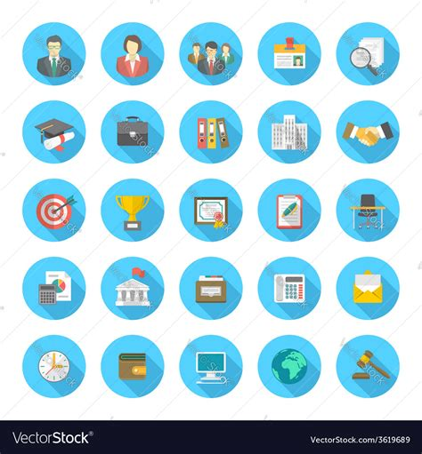 roundhouse stock images royalty free images vectors round flat resume icons royalty free vector image