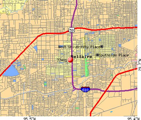 bellaire texas map 77401 zip code bellaire texas profile homes apartments schools population income