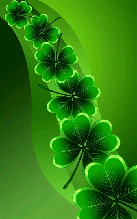clover color clover leaf st s day green colors shades