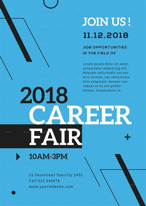 career fair flyer  infinite graphicriver