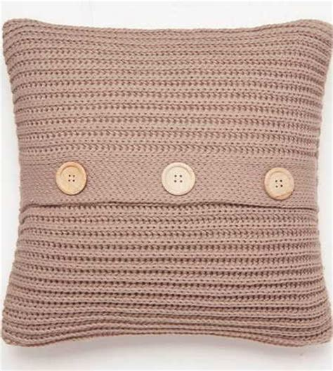easy knit cushion cover chunky knit knitted soft square cushion cover by catherine