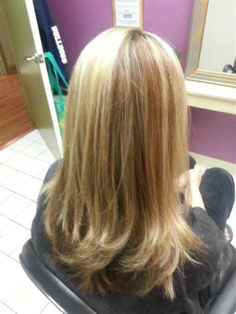 gold lowlights on hair blonde highlights red gold lowlights yelp