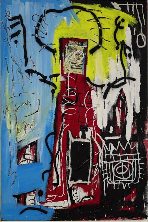 sothebys london  offer  million basquiat canvas