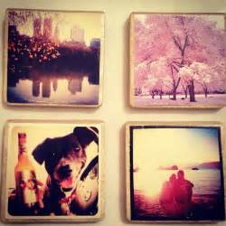 Diy coasters out of instagram prints 36 diy projects for teenagers