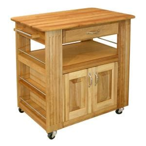 home depot kitchen islands catskill craftsmen kitchen cart with storage 1544 the home depot