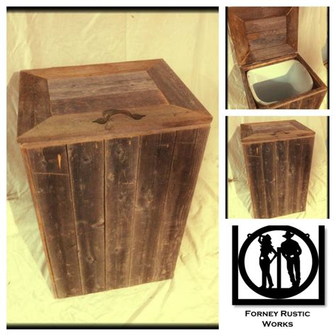 wooden kitchen garbage cans reclaimed wood trash can my kitchen trash bins diy and crafts and rustic