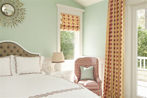 Seafoam Green Walls Contemporary Bedroom Thornton Designs