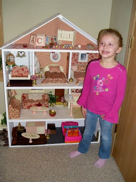 homemade barbie doll houses home made barbie doll house girl bedroom pinterest