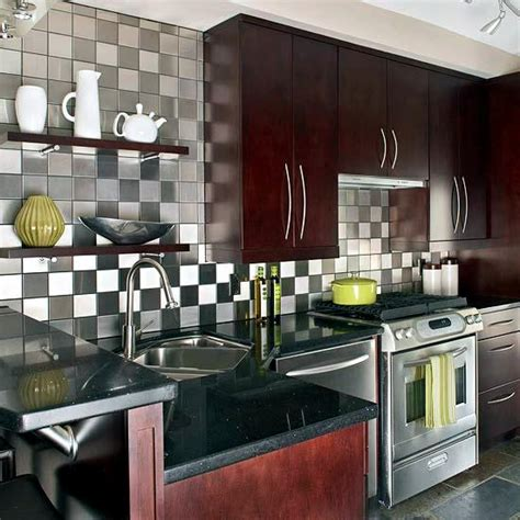 ideas  kitchen design  wall tiles glass