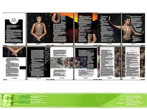 layout untuk novel design for book and annual report layout by cecep