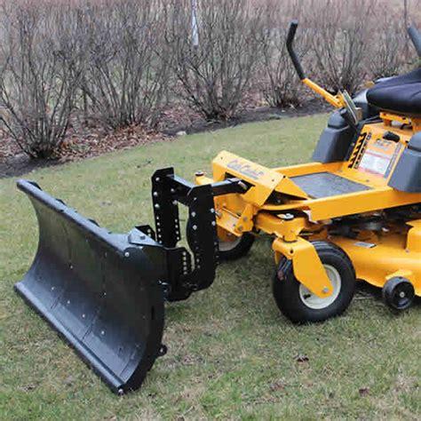 nordic auto plow   turn mower plow blade large