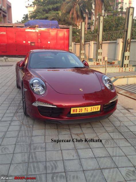 porsche kolkata supercars imports kolkata page 202 team bhp