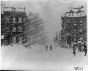 the great blizzard of 1888 retro photo friday the great blizzard of 1888 retroette