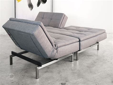 Chair Sofa Bed Vogue Convertible Sofabed And Lounge Chair Haiku Designs