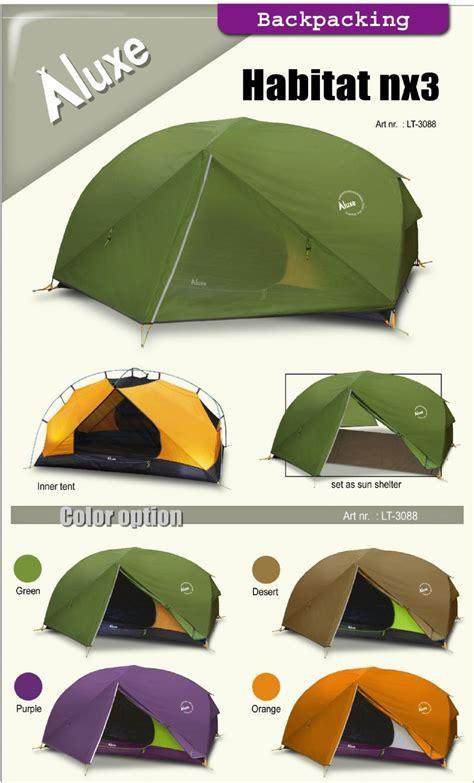 Tenda Luxe Habitat Nx cing backpacking tent hammock tarp fly sheet luxe habitat nx3 backpacking tent