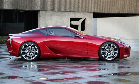 sporty lexus coupe lf lc sport coupe concept big hit in detroit