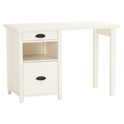 Small Desk With Storage Chatham Small Storage Desk Hutch Pbteen