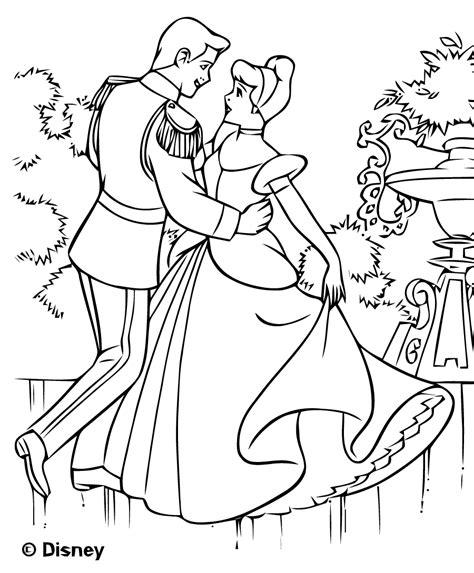 Coloriage Cendrillon Les Beaux Dessins De Disney 224