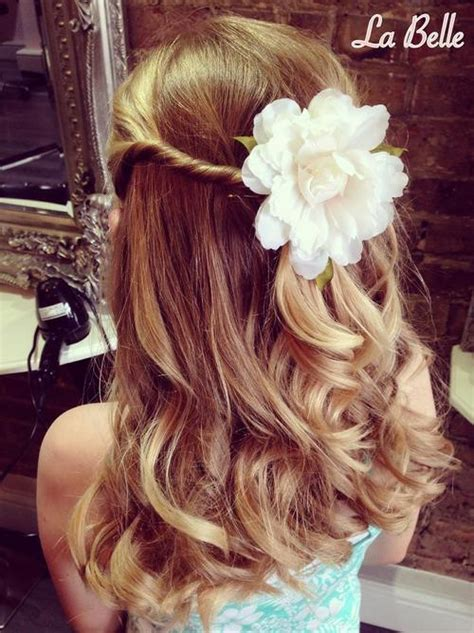 flower girl hairstyles half up half down 20 flawless flower girl hairstyles