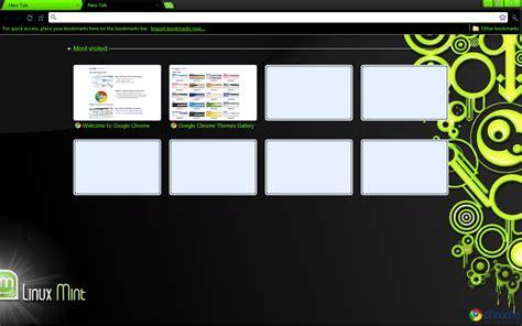 pretty themes for google chrome linux mint google chrome theme by strychnine8301 on deviantart