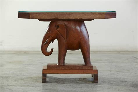elephant tables for sale mahogany table with carved elephant base with