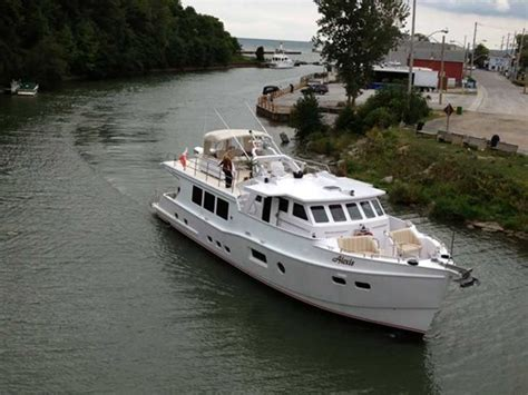 small fishing boats for sale ontario custom boat mfg dovercraft trawler 2013 occasion bateau 224