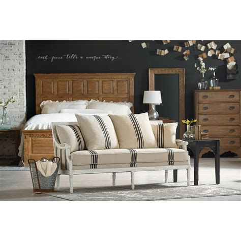 magnolia home tailor sofa magnolia home by joanna gaines parlor 55508301 settee sofa