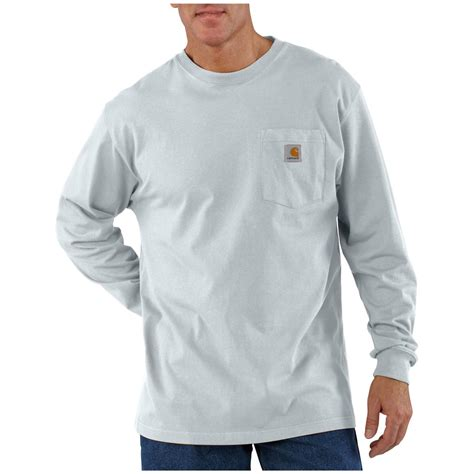 Sleeve Pocketed T Shirt carhartt s workwear sleeve pocket t shirt