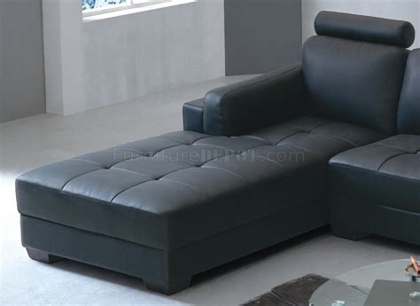 eagles couch 8167 sectional sofa black bonded leather by american eagle