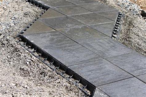 x press terrassen befestigungssystem terrassenplatten gegen seitliches abwandern sichern