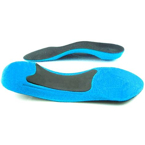 tpr form 3 4 length arch support insoles shock absorption