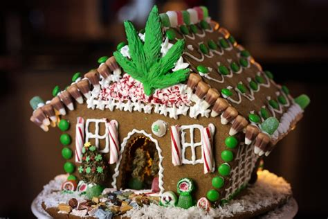 House Home Decorating Infused Marijuana Gingerbread Recipe Gingerbread Grow House