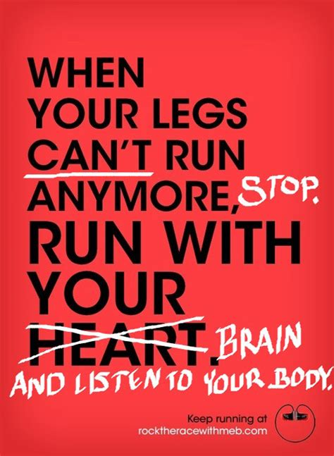 running with your running matters 194 when your legs can t run anymore stop run with your brain and
